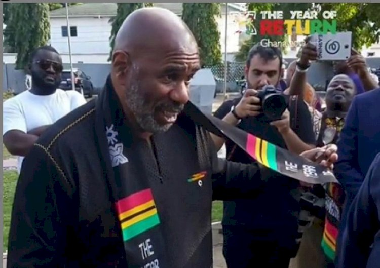 LATEST NEWS - Steve Harvey wept during his visit to slave castle in Ghana, formerly Gold Coast