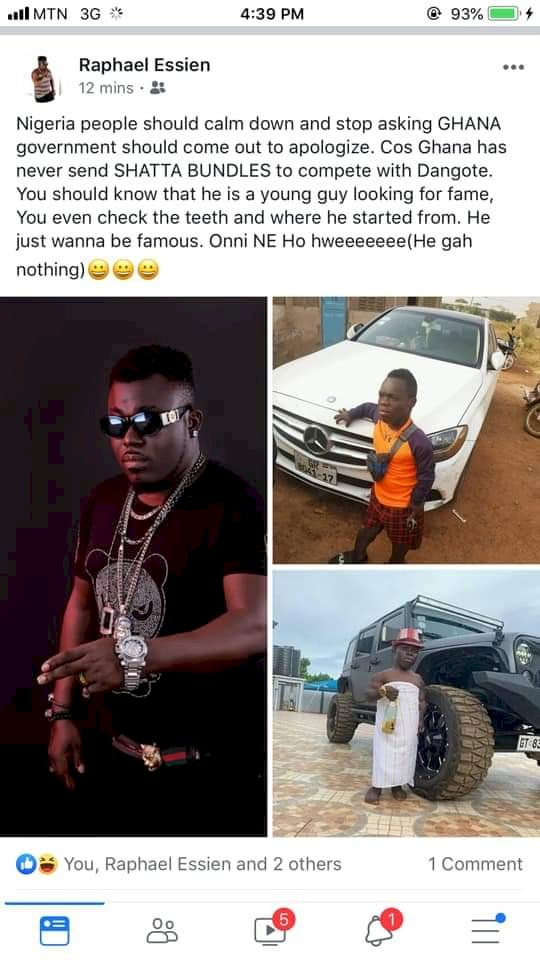 "READ: ""IS SHATTA BANDLE THE YOUNGER BROTHER OF SHATTA WALE?"" - NIGERIANS ASK"