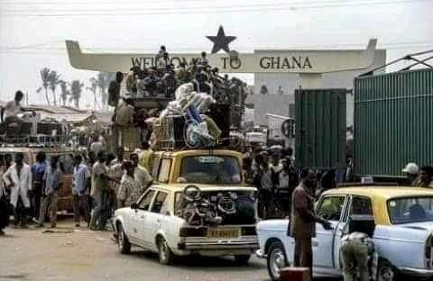 Ghana Must Go: A Historical Reminder of How Nigerians Treated Fellow Africans in the 1980s? NO. Certainly some Nigerians were totally against that decision by their government.