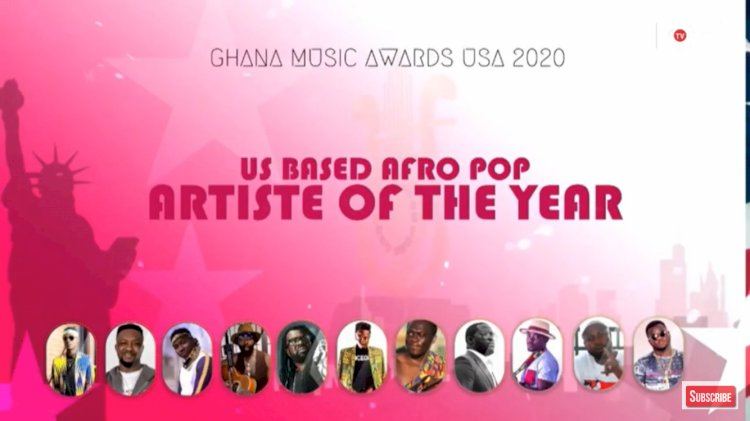 Natty Bee Nominated for US Based AfroPop Artiste of The Year